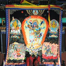 giant Mahakala applique